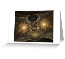 Webs Greeting Card