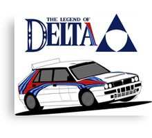 Legend Delta Canvas Print