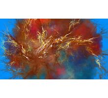 Tesla Brain - Abstract CG Photographic Print
