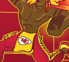 Kansas City Chiefs logo 2 Sticker