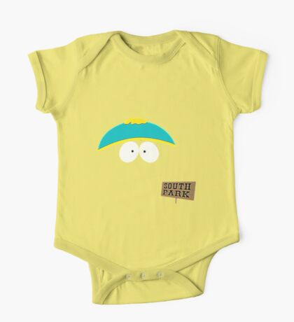Invisible Cartman form South Park One Piece - Short Sleeve