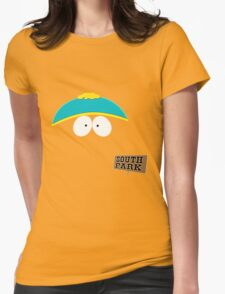 Invisible Cartman form South Park Womens Fitted T-Shirt