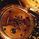 Antique Watch Innards by Glenn Cecero
