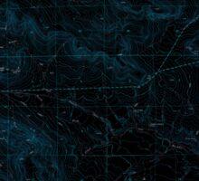 USGS Topo Map Oregon Virtue Flat 281975 1967 24000 Inverted Sticker