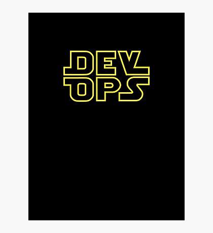 DevOps - Star Wars style Photographic Print