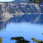 Crater Lake--Oregon--USA by Chappy