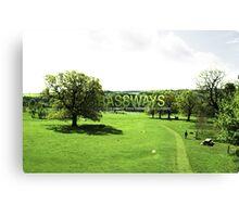 GRASSWAYS Canvas Print