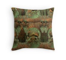 Bumps And Holes Throw Pillow