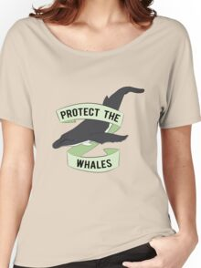 Protect The Whales Women's Relaxed Fit T-Shirt