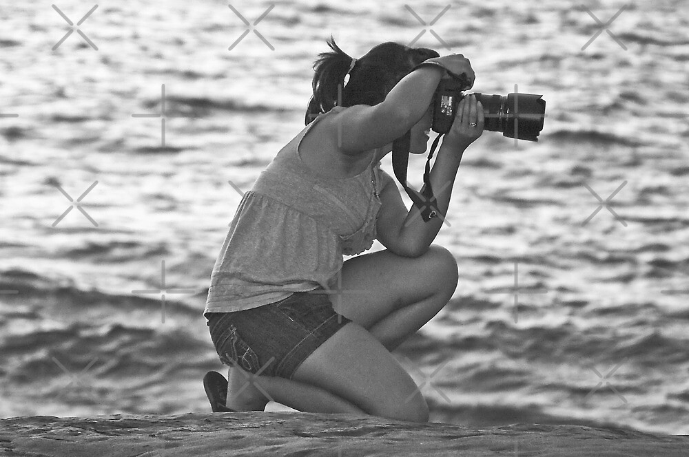 Shooting at the Beach by Heather Friedman