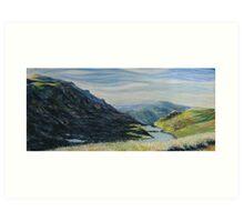 lake alpina afternoon Art Print