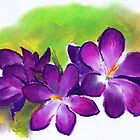 Alison Orr&#x27;s &#x27;Purple Crocuses&#x27; by Art 4 ME