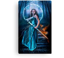 Sword of Destiny Canvas Print