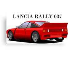 Lancia Rally 037 Stradale Canvas Print