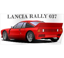 Lancia Rally 037 Stradale Poster