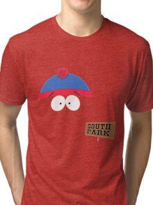 Invisible Stan form South Park Tri-blend T-Shirt