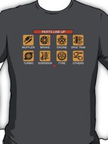 Gran Turismo 2 Tune Menu T-Shirt