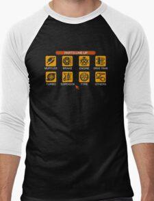 Gran Turismo 2 Tune Menu Men's Baseball ¾ T-Shirt