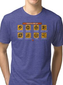 Gran Turismo 2 Tune Menu Tri-blend T-Shirt