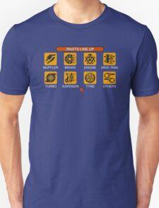 Gran Turismo 2 Tune Menu Unisex T-Shirt