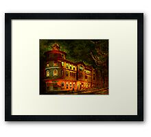 Where Everybody Knows Your Name! Framed Print