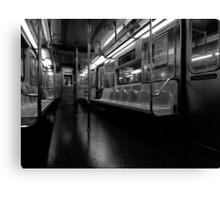 Late Subway - New York Canvas Print