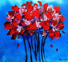 Red Bouquet by BenPotter