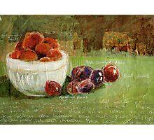 Summerfruits Photographic Print