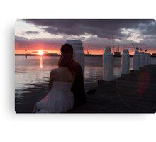 Love Story - Port Melbourne Canvas Print