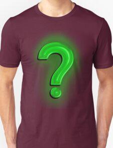 Question Mark Light Bulb T-Shirt