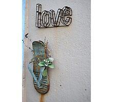 Love Wall Photographic Print
