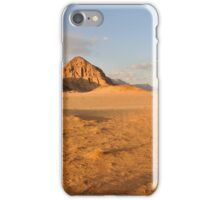 Desert landscape iPhone Case/Skin