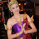 The Thai Dancer  by Alwyn Simple