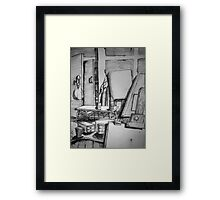 Home Studio Framed Print