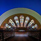 QVB Stairs by Malcolm Katon