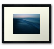 here and now! Framed Print