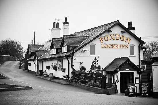 Foxton Locks Inn: Leicestershire by DonDavisUK