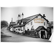 Foxton Locks Inn: Leicestershire Poster
