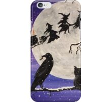The Witch's Sleigh iPhone Case/Skin