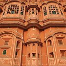Palace of the Winds, Pink City, Jaipur by Christopher Cullen