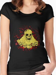 skull mountain Women's Fitted Scoop T-Shirt