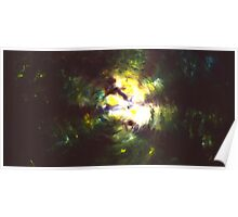 """""""Forest Two"""" - abstract oil painting impression of trees Poster"""
