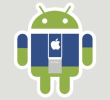 Apple Android cross over staff by Scott Barker