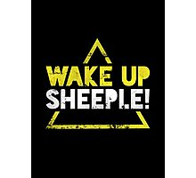 Wake Up Sheeple! Photographic Print