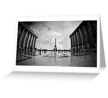 Trocadero, Paris Greeting Card