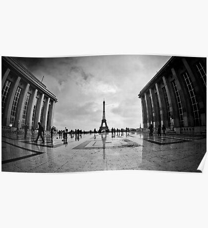 Trocadero, Paris Poster