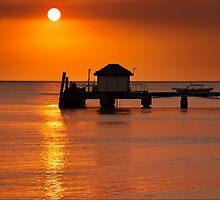 The Pier   Mana Island   Fiji Islands by Pawel Papis