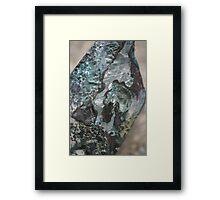 Travertine Springs Sculpture Framed Print