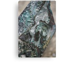 Travertine Springs Sculpture Canvas Print