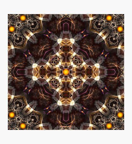 Bands Of Light The Cauldron Lock Photographic Print